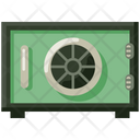 Safe Box Locker Vault Icon