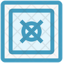 Money Safe Security Icon