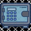 Safe Box Locker Bank Locker Icon