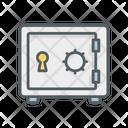 Safe Box Locker Money Icon