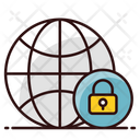 Safe Browser Online Safety Cybersecurity Icon