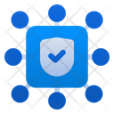 Safe Cyber Security Icon