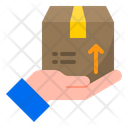 Safe Delivery Hand Icon
