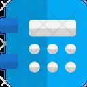 Safe Deposit Pin Lock Locker Pin Locker Password Icon