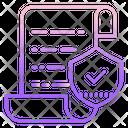 Safe Document Icon