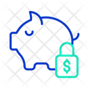 Safe Dollar Savings Icon