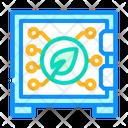 Safe Electronic Icon