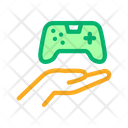 Hand Hold Game Icon
