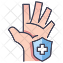 Hand Care Protection Icon