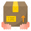Safe Hand Delivery Icon