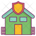 Safe Home Protected For Sale Icon