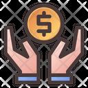 Safe Investment Dollar Saving Icon