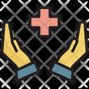 Secure Hospital Safe Life Icon