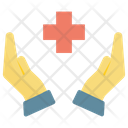 Secure Hospital Safe Life Icon
