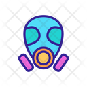 Environmental Pollution Mask Icon