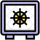 Business Financial Vault Icon