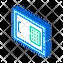 Safe Equipment Isometric Icon