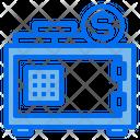 Strongbox Safe Box Money Icon