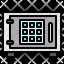 Safe Safe Box Security Icon