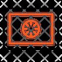 Safe Locker Locker Bank Icon