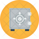 Safe Locker Security Icon