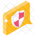 Safe Message Secure Chat Protected Chat Icon