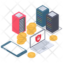 Safe Payment Digital Payment Bitcoin Security Icon