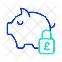 Safe Pound Savings Icon