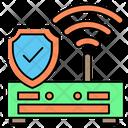 Safe Wi Fi Icon