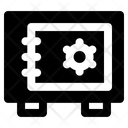Safebox Security Locker Icon