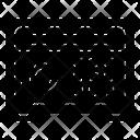 Safebox Locker Security Box Icon