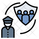 Police Protect Safeguard Icon