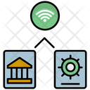 Safety Wireless Security Bank Icon