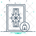 Safety Security Locker Icon