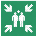 Safety Meeting Point Icon