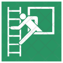 Safety Externel Stair Icon