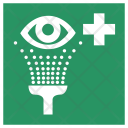 Safety Wash Eyes Icon
