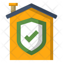 Safety Stay At Home Home Icon Icon
