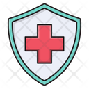Safety Shield Protection Icon