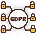 Safety Gdpr Lock Connection Gdpr Lock Netowork Icon