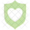 Safety Heart Protection Icon