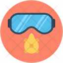 Safety Glasses Mask Icon