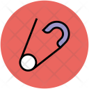 Safety Pin Security Icon