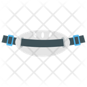 Safety Belt Safety Harness Belt Buckle Icon