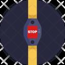 Public Transport Safety Belt Seat Belt Icon