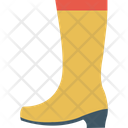 Safety Boots Long Shoes Labour Footwear Icon