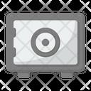 Treasury Safety Box Bank Icon