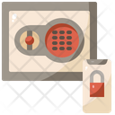 Safety Box Security Box Deposit Box Icon