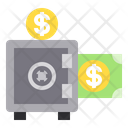 Safety Box Money Security Icon