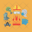 Safety Cloth Helmet Icon